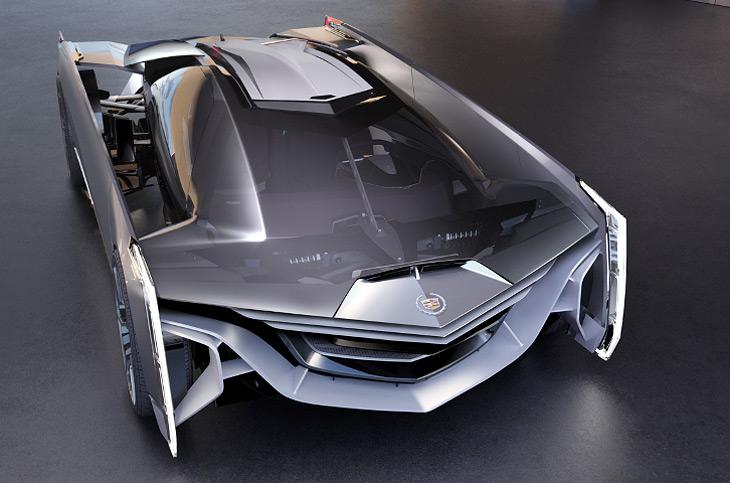 Cadillac Estill concept supercar
