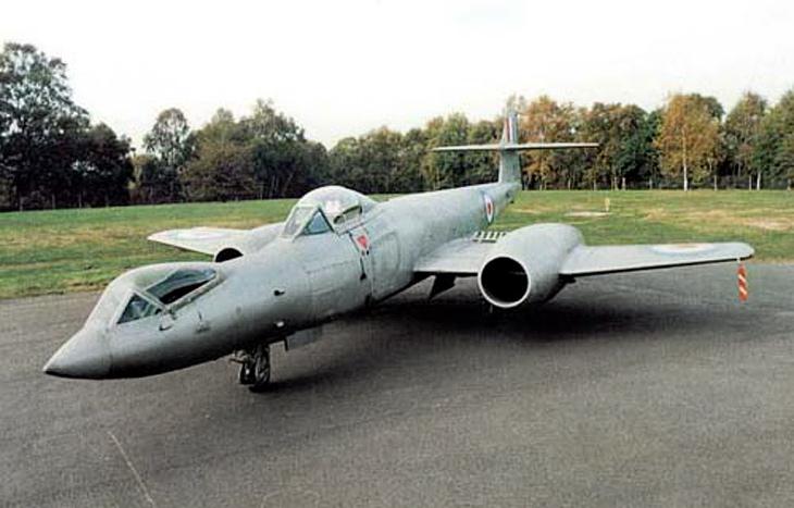 Gloster Meteor F8 Prone Pilot