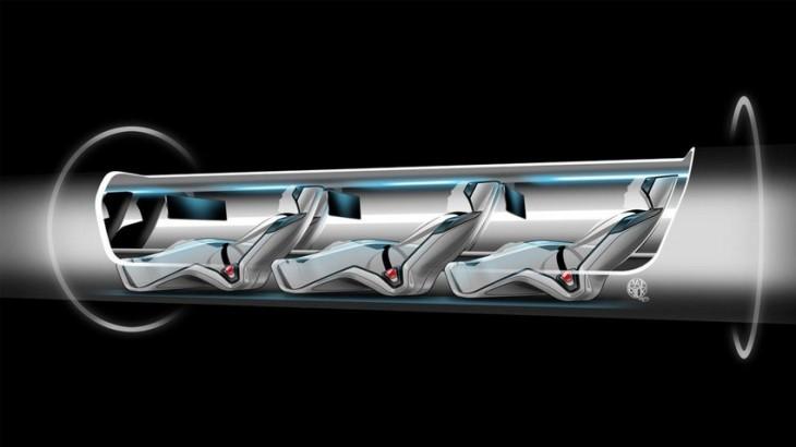 Hyperloop carriage