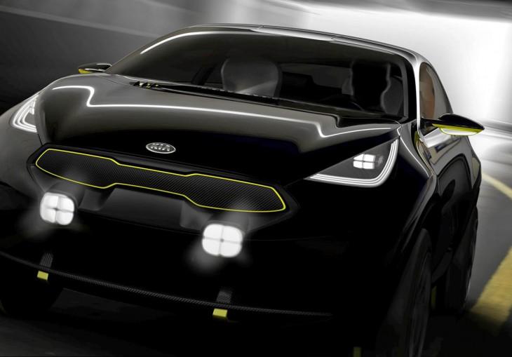 Kia concept car 2013 Frankfurt Motor Show