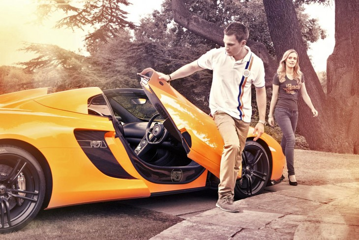 McLaren 50th clothing collection