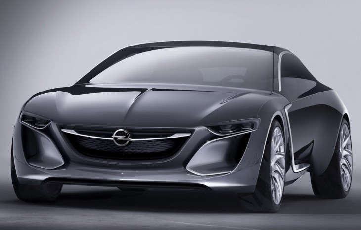 Vauxhall Monza Coupe concept