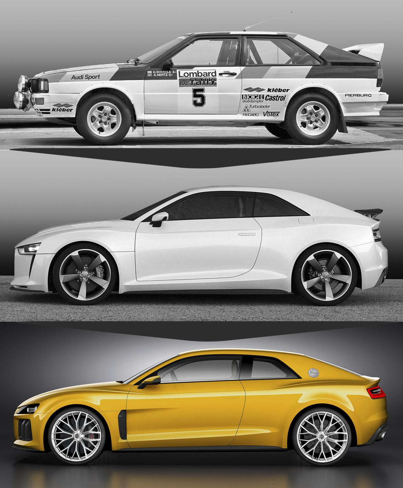 Vehiculos Deportivos: Audi Sport Quattro