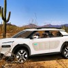 Citroen Cactus concept car in the desert