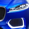 Jaguar C-X17 SUV concept headlight