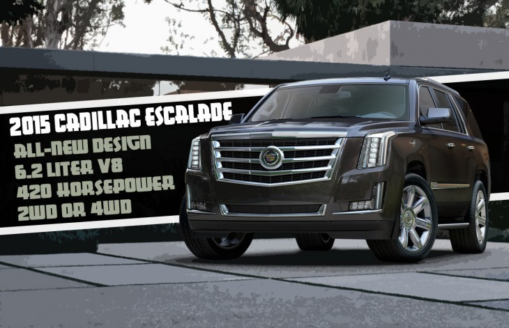 2015 Cadillac Escalade information