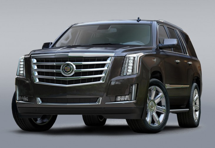 2015 Cadillac Escalade front view