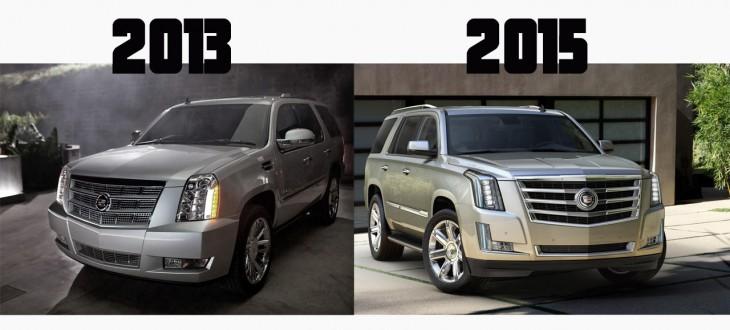2015 Cadillac Escalade vs 2013 Escalade