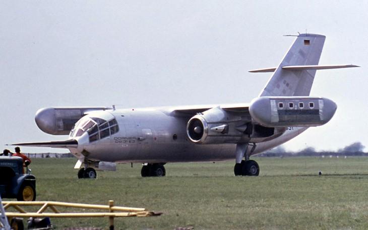 Dornier Do 31 VTOL aircraft