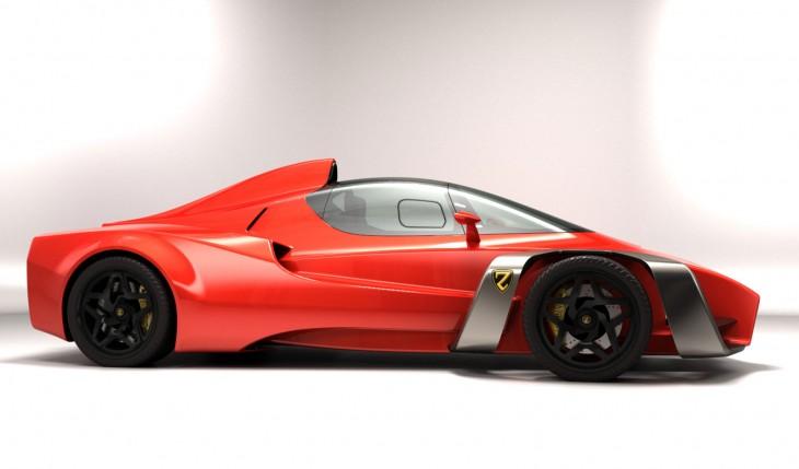 Ferrari Zoubin concept side