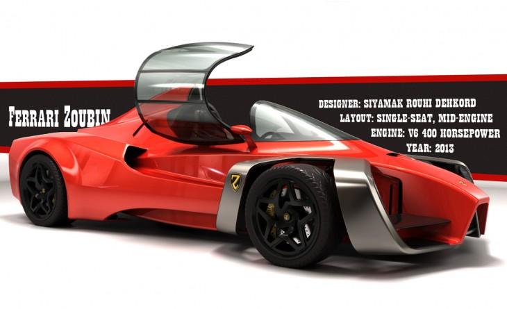 Ferrari Zoubin concept