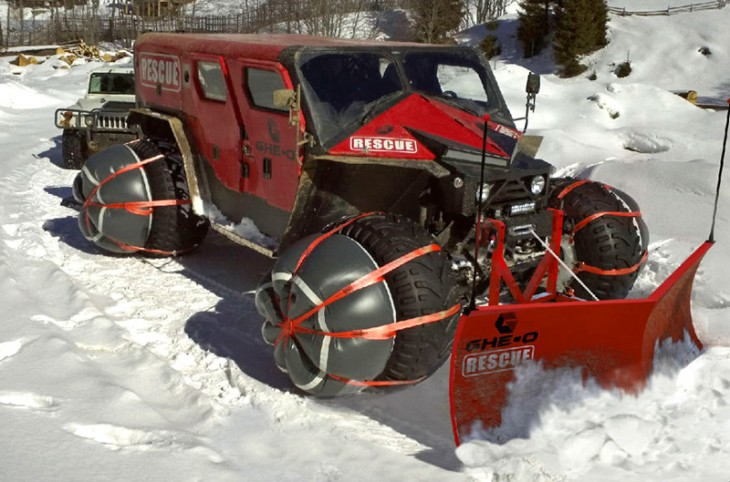 Ghe-O Motors Rescue Vehicle