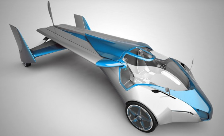 AeroMobil flying car from Slovakia