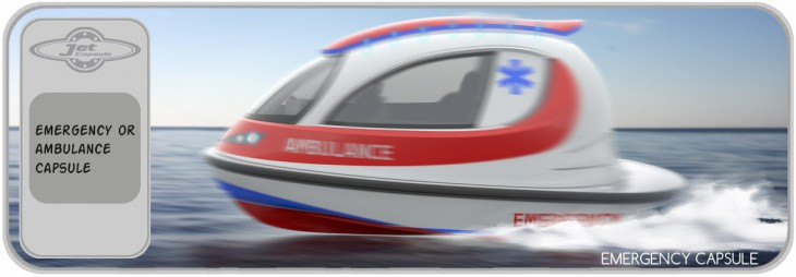 Jet Capsule emergency version