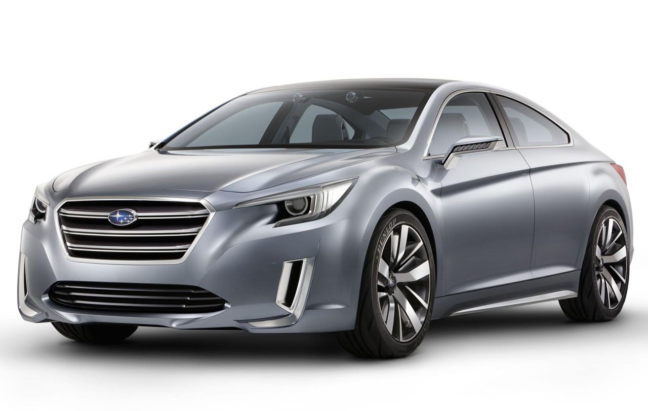 Subaru revealed a concept version of the Subaru Legacy. This Legacy ...