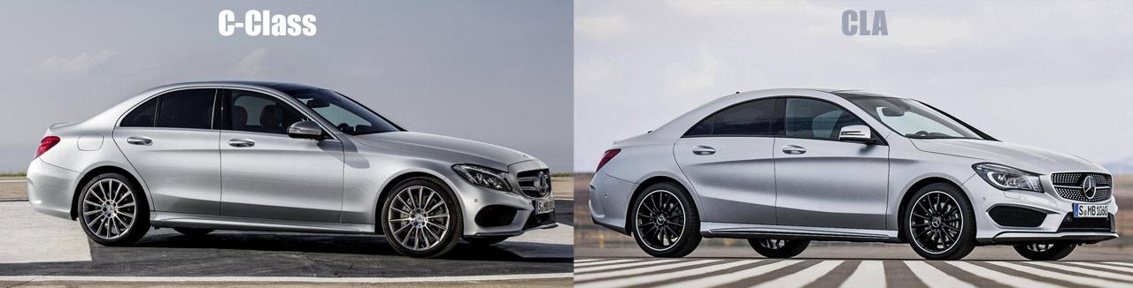 2014 mercedes benz c class diseno for Mercedes benz cla vs c class