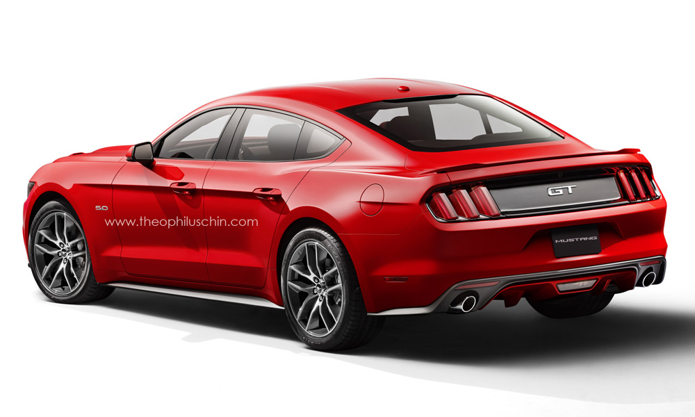 I Know It Is Just A Concept But 4 Door Mustang Would Be My Jam Very Much Or In Pinch With Slightly Larger Back Seat Room Like The Dodge