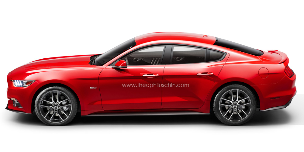 2015 Mustang Rendered Four Door Coupe S Page 6 Ford