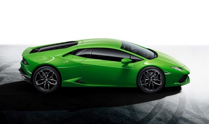 Lamborghini Huracan LP 610-4 green