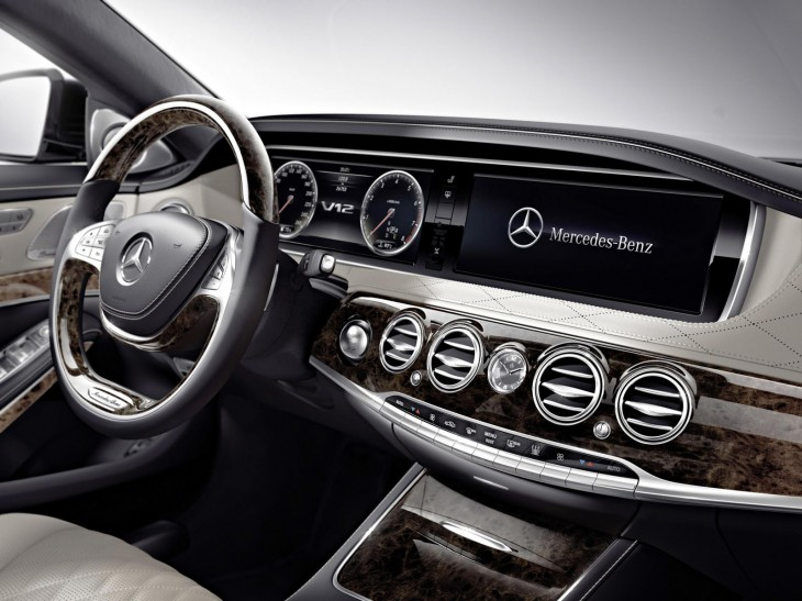 2015 Mercedes-Benz S 600 interior