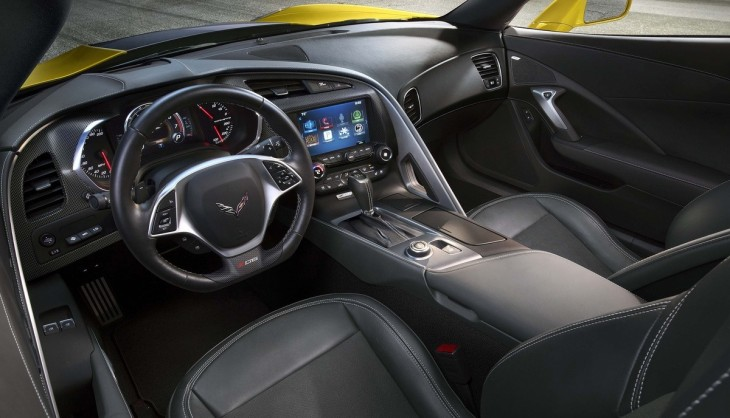 2015 Corvette Stingray Z06 interior