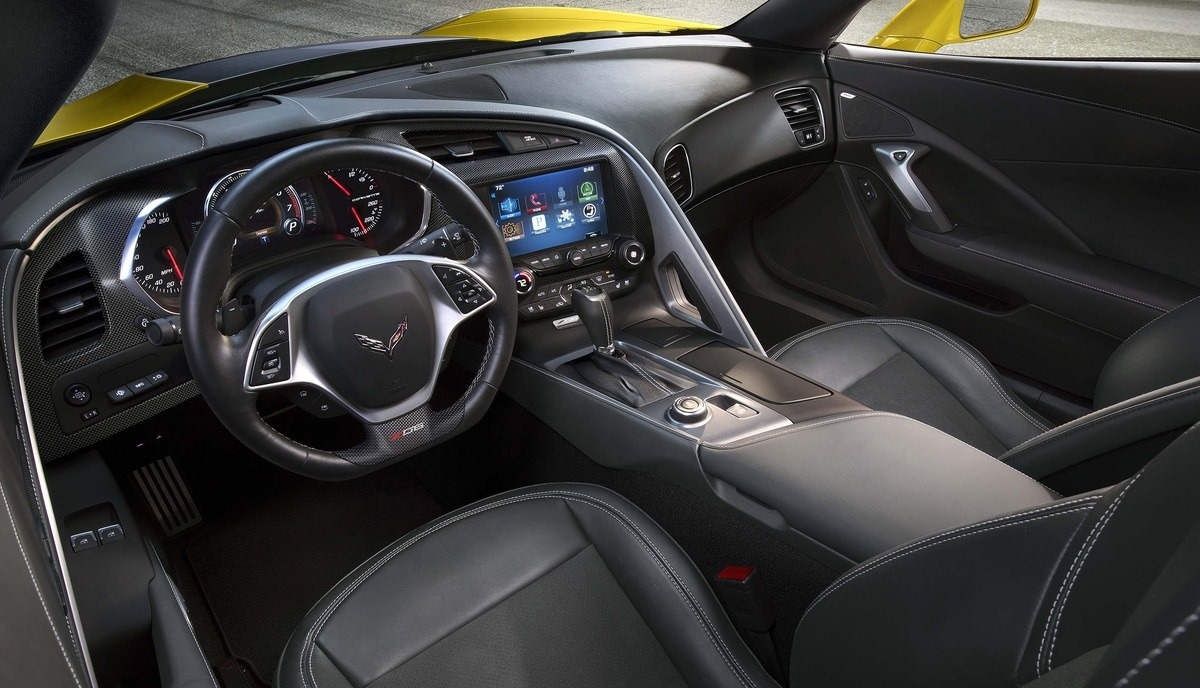 inside the corvette z06 is marked out from the corvette stingray by. Cars Review. Best American Auto & Cars Review