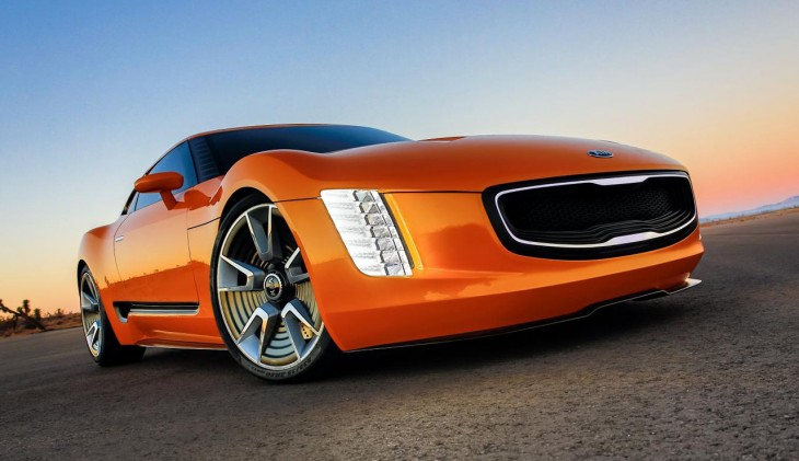 Kia GT4 Stinger sports car concept