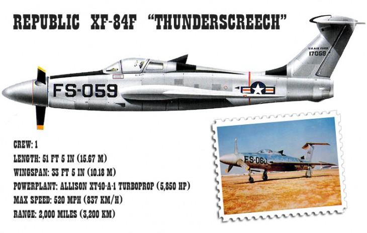 Republic XF-84H Thunderscreech