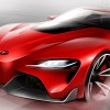 Toyota FT-1 concept sketch
