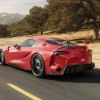 Toyota FT-1 concept rear driving