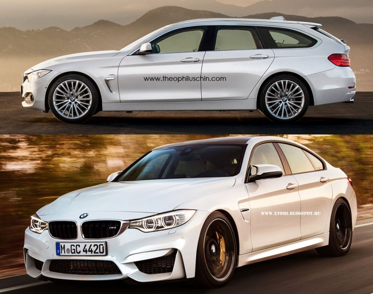 BMW 4 Series variations