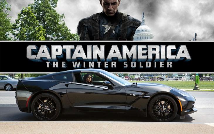 Black Widow Corvette Captain America
