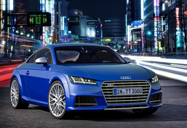 2015 3rd generation Audi TTS