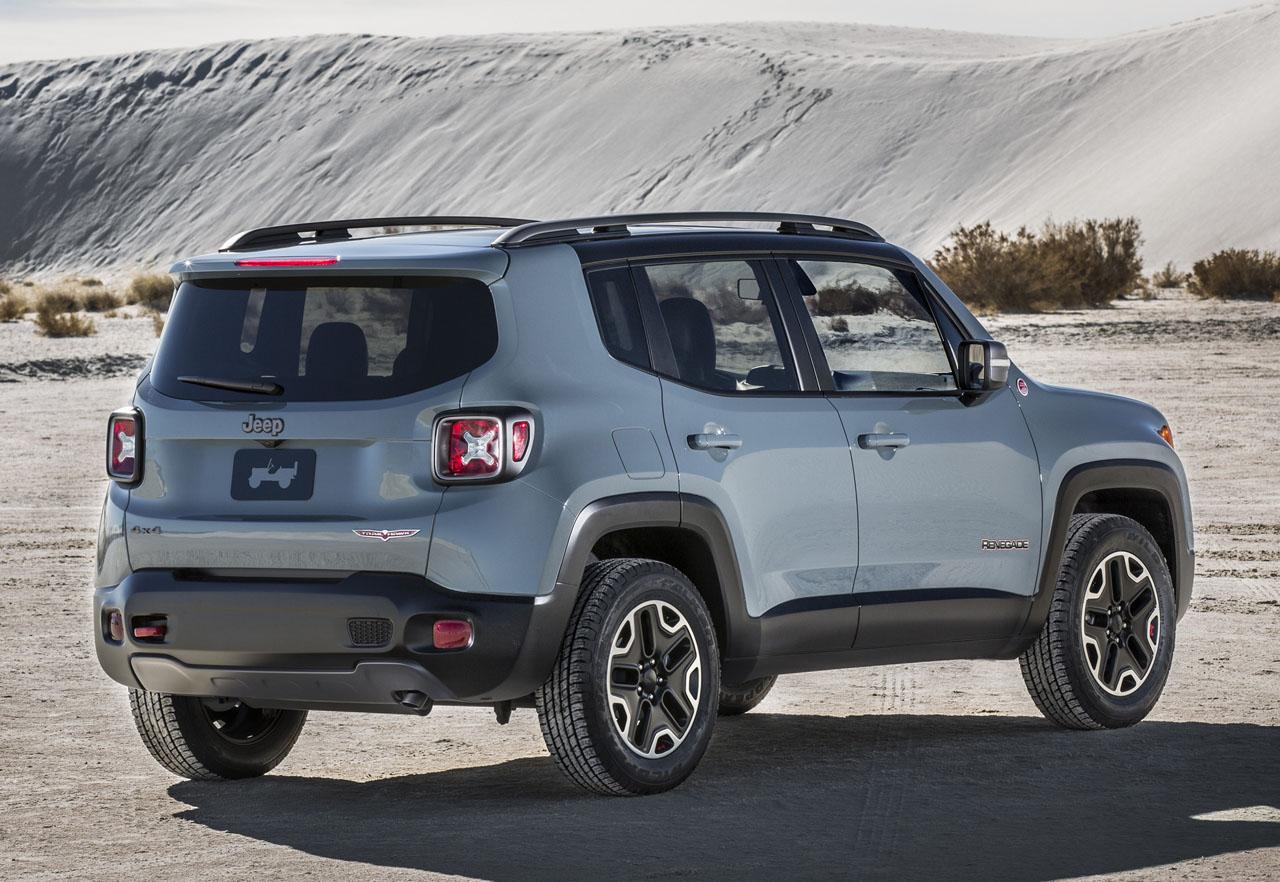 Jeep Renegade Trailhawk 4×4 model