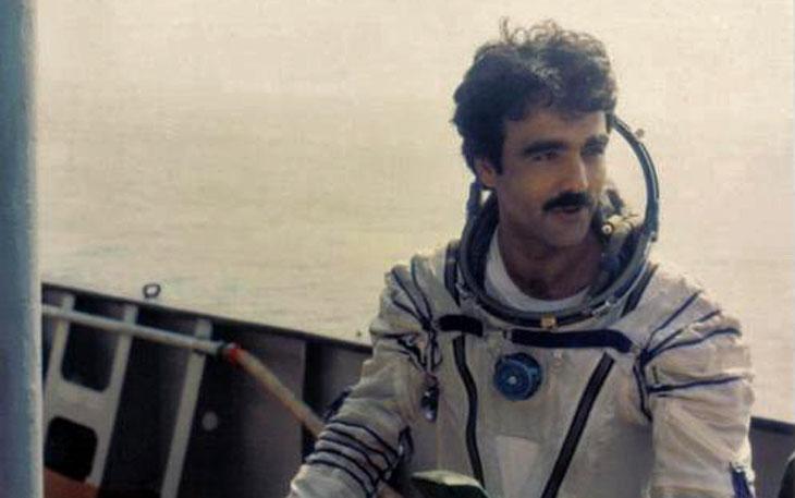 Abdul Ahad Momand Afghan astronaut
