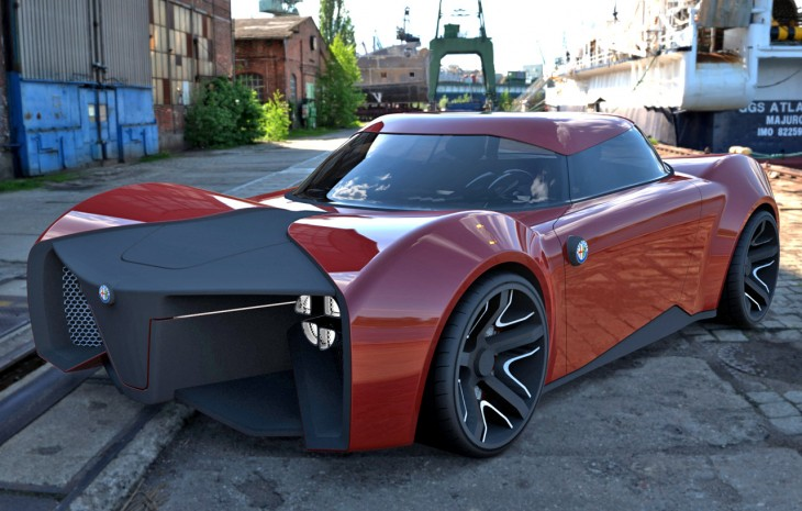 Alfa Romeo Feroce concept