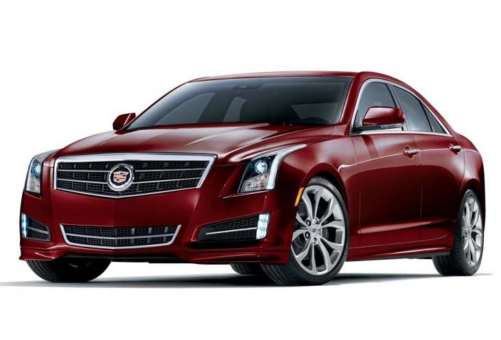 2015 Cadillac ATS Crimson Sport Edition