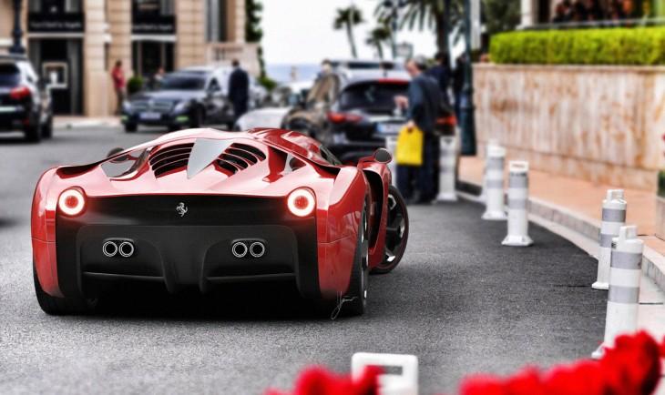 "Ferrari ""Project F"" FORTIS"