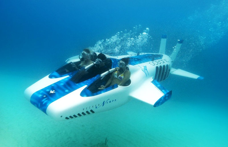 Necker Nymph – three-person underwater flying machine