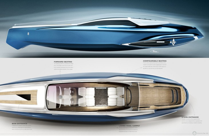 Rolls-Royce 450EX yacht