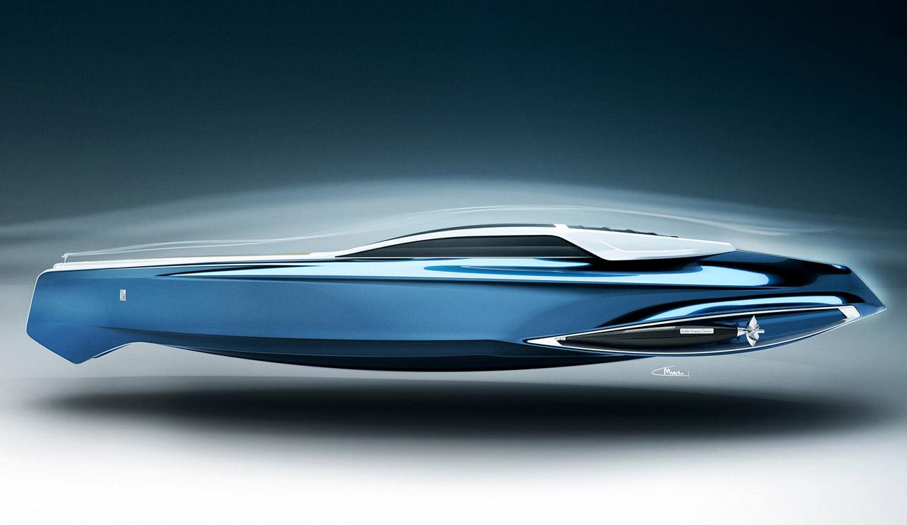 Rolls Royce 450ex Luxury Yacht Concept Brings Refinement