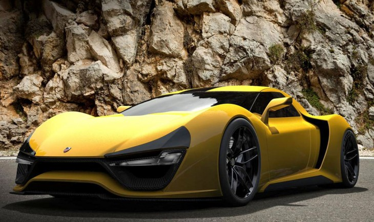 Trion Nemesis supercar