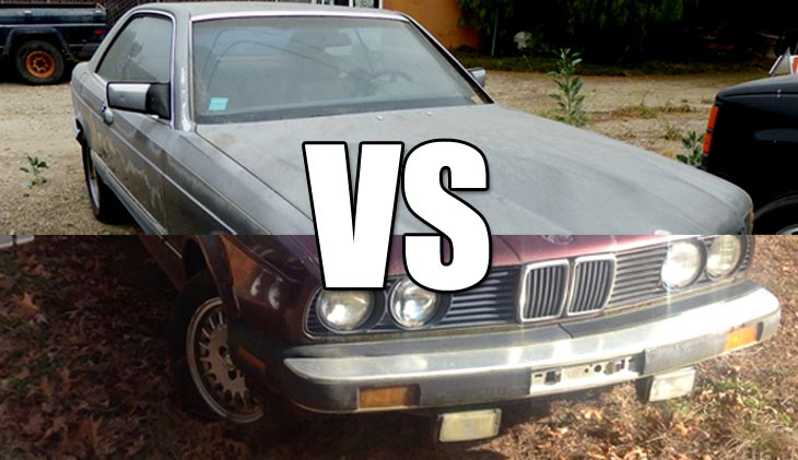 BMW Vs. Mercedes
