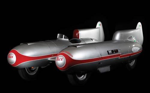 1951 Italcorsa Tarf II land speed record car
