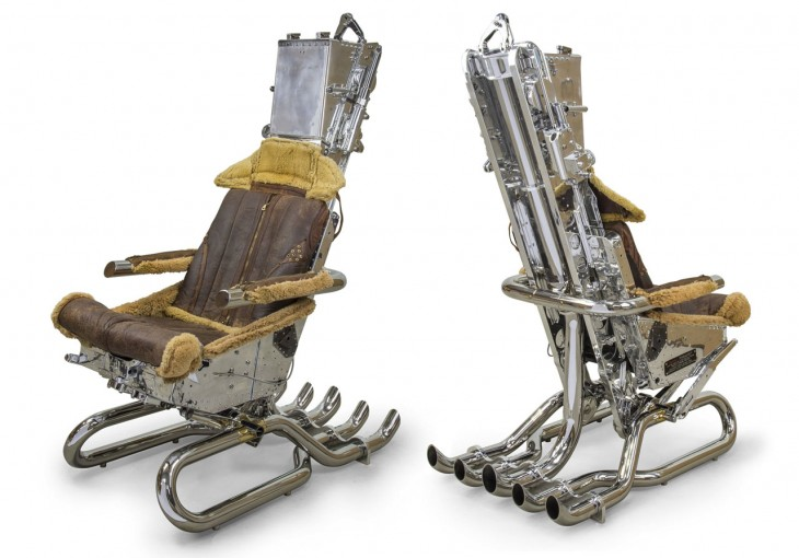 Ejector Seat Chair by Hangar 54