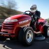 Honda Mean Mower the World's Fastest Lawn Mower