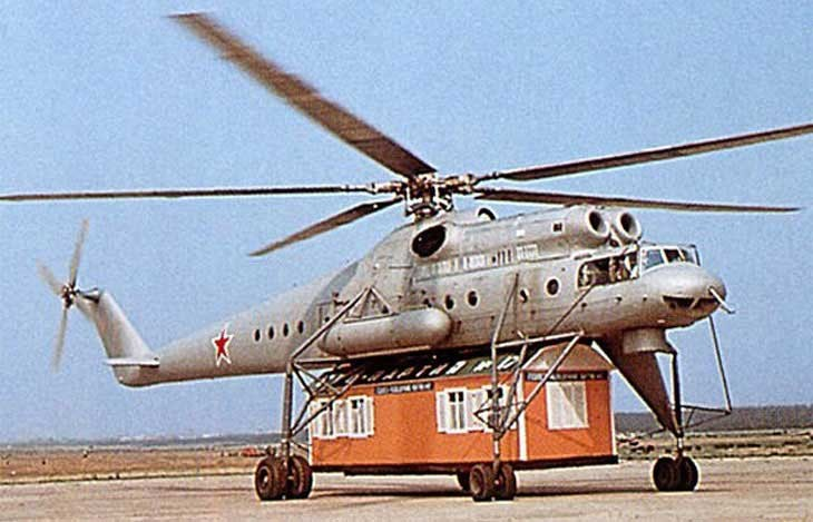 Mil Mi-10 helicopter
