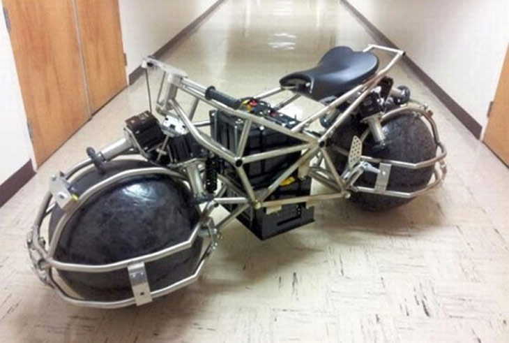 Spherical Drive System SDS motorcycle
