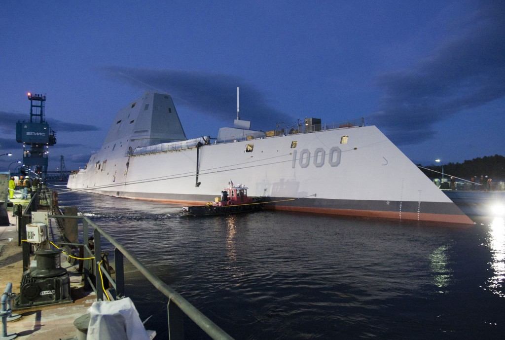 USS Zumwalt guided-missile destroyer