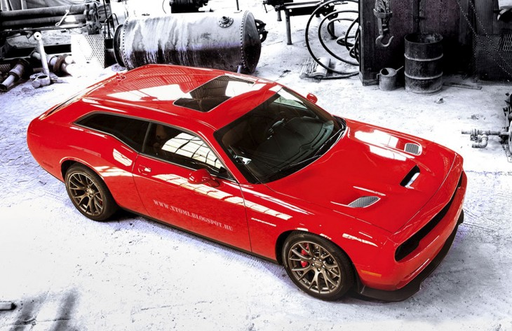 2015 Dodge Challenger SRT Hellcat Shooting Brake